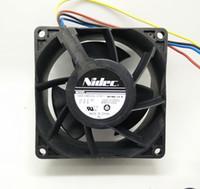 V80E14MS2A3-57A611 avc fans - NIDEC V A cm MM V80E14MS2A3 A611 D J1 E D1412P002 cooling fan AVC DAZB0838RCM PG01