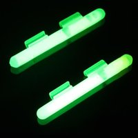 Wholesale night fishing glow luminous stick with clip for bait casting rod glow clip stick