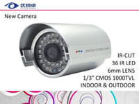 Wholesale Security Camera CMOS TVL HD CCTV Camera Waterproof Night Vision Infrared IR Bullet DVR Inspect Video Surveillance Camera System W08
