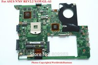 asus mainboard intel - For ASUS N76V Rev laptop motherboard N76 mainboard N13P GL A1 Socket989 DDR3 Fully tested