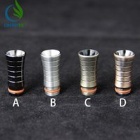 adapter supplier - new friction fit wide bore drip tip heat sink adapter all ranges drip tip supplier