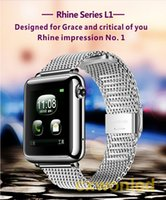 apple rohs - 2016 Luxury smart watch phone iphone android watch CE FCC ROHS lost smartwatch music play bluetooth watch