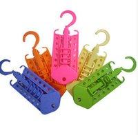 Wholesale Household Goods Magic colorful Magic Hanger Multi functional Plastic Hanger