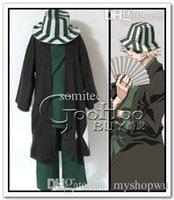Wholesale Bleach Urahara Kisuke cosplay costumes