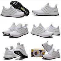 Wholesale Drop Shipping Originals Ultra Boost White Sneaker YZY Women Men s Sports Running Shoes Size