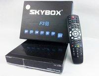 Wholesale NEW Original Skybox F3S Full pi HD PVR Digital Satellite Receiver support usb wifi youtube Via DHL