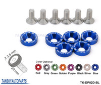 Wholesale Tansky JDM Style Fender Washers Bumper Washer Lisence Plate Bolts Kits for CIVIC ACCORD TK DP02D