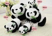 Wholesale Christmas cartoon teddy bears plush toys stuffed panda bears plush animals giant big teddy bear TOY CM CM CM CM Panda