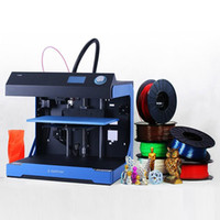 Wholesale 3D Printer Machine Kit with LCD Screen Display Control Off line Ideaprinter F100 D Metal Printer industrial High precision d printer Kit