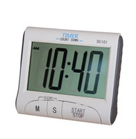 Wholesale High quality Portable Large LCD Digital Kitchen Timer Count Down Up Clock with Loud Alarm Q020 DC101