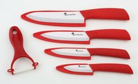 best bread knives - Ceramic Knife Set Best Global Kitchen Knives with Case Use As Bread Vegetable and Chef Knife