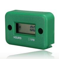 Wholesale x Digital Hour Meter for Motorcycle Bike ATV Green order lt no track