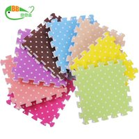 Wholesale 4pcs now baby play EVA foam puzzle mat learning education crawling crawling floor soft mat carpet for kids tapete para bebe
