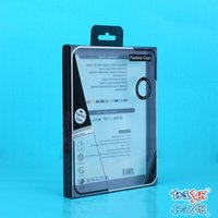 Wholesale LCpad PVC Black Retail Package Transparent Packing Box MIUI Mobile Phone Case Packing Box fit for Within inch ipad Mini Air