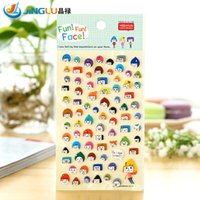 Wholesale Poster South Korea Sent Straight Three Dimensional Foam Decorative Stickers Yeehyun Interesting Expression