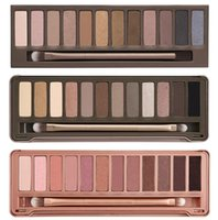 best makeup eyeshadow - 1pcs Best Makeup Eye Shadow color eyeshadow palette g NUDE via Epacket