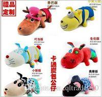 air freshener dolls - 300 TOPB4153 color cartoon minions Bamboo Charcoal Toys Car auto air freshener Bamboo Charcoal bag package toys soft plush toys dolls Gift