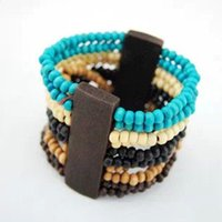 Cheap Min. order 12 pieces mix available,Elastic wood bead bracelet ,3.16091. Free shipping .novelty
