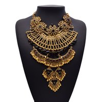 baroque clothing style - Western style shourouk luxury new Baroque gem clothing accessories fashion necklace exaggerated clavicle