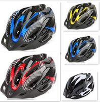 Wholesale New Bicycle Helmet Bike Adult Mens Safety Helmet Carbon red carbon blue and carbon yellow