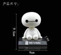 Wholesale NEW Automotive supplies automotive plastic cartoon shook his head doll ornaments lovely new white