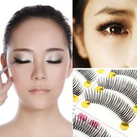 best fake lashes - Best Pairs Handmade Fake False Eyelash Natural Look Transparent Lashes XM