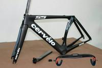 Wholesale S5 carbon frame carbon road bike frame carbon road handlebar BBright