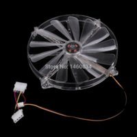 ball lighting video - WT cm Double Joint Chassis Fan with Red Light DC V fan china fan video