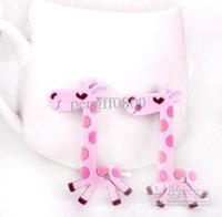 cable organizer cable tidy - pc Cute giraffe wrap cable wire tidy earphone winder Organizer holder for headphone