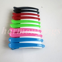 Wholesale Professional Hair Pins hair section clips human hair extensions tools for hair wigs weft weaves colorful