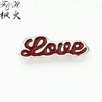word charms - 2015 New Designs Love Words Floating Charms Lockets Charms Floating Lockets Charms Fits Lockets