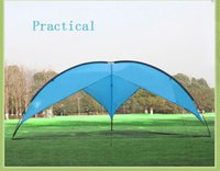 Wholesale Outdoor Awning Tent Gazebo Beach Tent Pergola Folding Garden Fishing Tent Big Sun Shelter cm