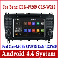 Wholesale Android Car DVD GPS Navigation for Mercedes Benz CLS W219 CLK W209 with Radio BT USB MP3 DVR Stereo Head Unit