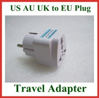 australia wall socket - 5pcs Universal Travel Adapter Australia AU USA US UK to EU Plug Wall AC Power Adapter V A Socket Converter