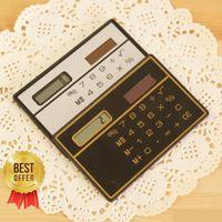 Wholesale NEW Hot Sale Direct Selling School Calculator Slim Card Calculator Solar