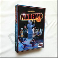 Wholesale English Pandemic basic pdf russian and english rules nice TABLE GAME desktop board game cards desktop game dixit