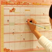 Wholesale C416 new Korean version of the plan years days work and study schedule