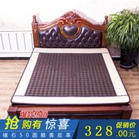 Wholesale Genuine Yu Hing Ronda heating germanium stone mattress jade mattress dual temperature control far infrared health therapy mattre
