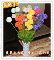 artificial onion - 10pcs Silk Artificial Flowers artificial flowers Artificial flower plant Yiwu flower new onion ball simulation ball