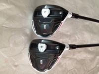 Wholesale 2pcs R15 golf fairway woods regular stiff flex top quality Oem golf clubs R15 fairway woods RH