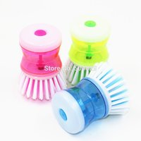 Wholesale New Kitchen Wash Tool Pot Pan Dish Bowl Palm Brush Scrubber Cleaning Cleaner