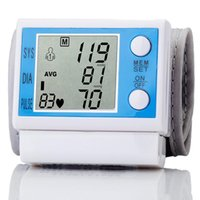 Wholesale Automatic Digital LCD Wrist Blood Pressure High Quality Wrist sphygmomanometer blood pressure monitor