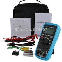 automotive current - Automotive Multimeter AC DC Voltage Current Resistance Continuity Diode Capacitance Temperature Frequency Duty Cycle Tester
