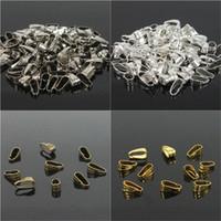 Wholesale Pendant Clips Pendant Clasps Pinch Clip Bail Pendant Connectors Jewelry Findings DIY jewely parts accessories