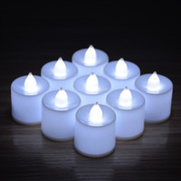 Wholesale Orange White Blue Green Red cm LED Flameless Candle Set for Wedding Party Valentine Events Decoration