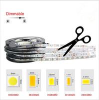Wholesale LED Strip Light SMD3014 Warm White Led DC12V string Ribbon tape Bar Neon New Year Christmas Decoration Lampada