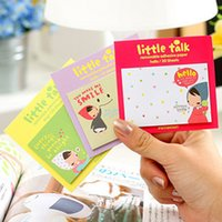 Wholesale C03 cute girl Scratchpad Korea creative paper notes sticky N times posted
