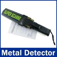 Wholesale to RU Professional Portable Super Scanner Handheld Metal Detector MD B1