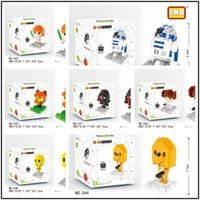 Wholesale LOZ building blocks Star Wars Diamond blocks Yoda Darth Vader model D puzzle kids toys educational toys for kids gifts