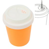 Wholesale Multi Function Coffee Cup Style Toothpick Holder Salt Cans Sugar Storage